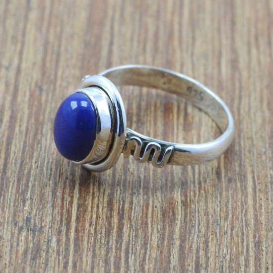 925 sterling silver jewelry lapis lazuli stone wholesale ring WR-4990