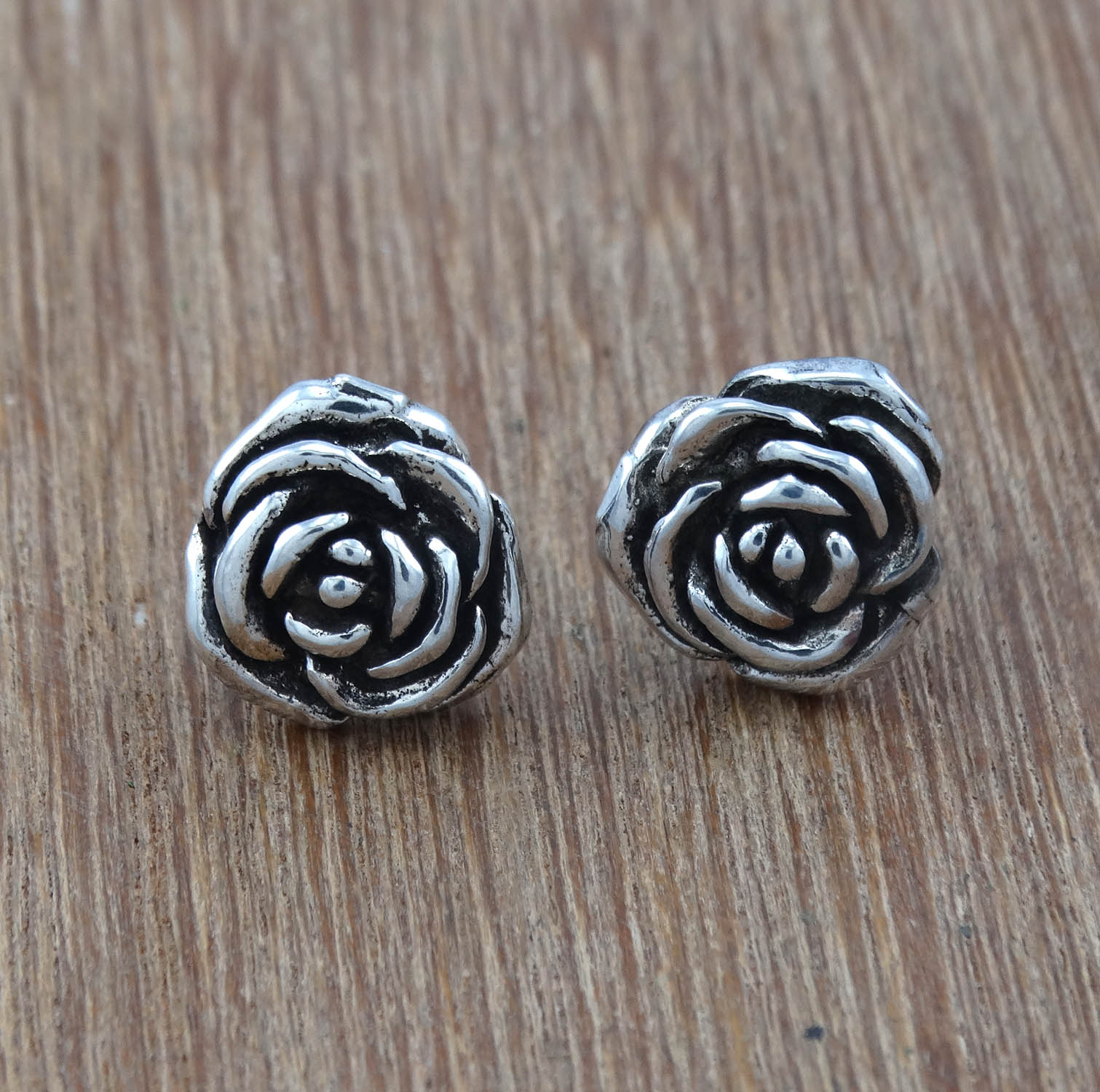 Fashion-Jewelry-Sterling-925-Sterling-Silver-Plain-Unique-Earring-PWE-3098